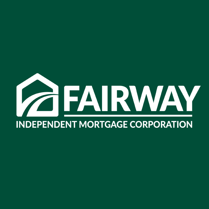 fairway logo in white text and dark green background